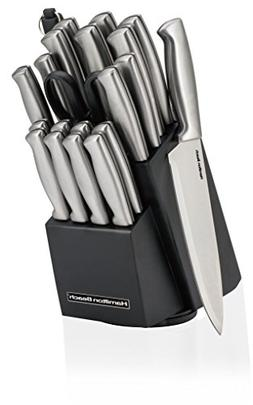 Hamilton Beach HDA602 22 Piece Cutlery Set with Stainless St