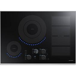"Samsung 30"" Stainless Steel Induction Smoothtop Cooktop with"