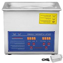 Stainless Steel Industry Ultrasonic Cleaner 3L Heated Heater