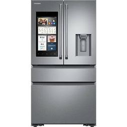 Samsung Stainless Steel Polygon Family Hub 2.0 Refrigerator