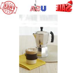 Stovetop Percolator Coffee Cup Pot Maker Stainless Espresso