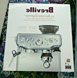 Breville The Barista Express With Conical Burr Grinder & Dos