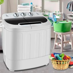 Top Load Mini Washing Machine Compact Twin Tub 13lb Washer S