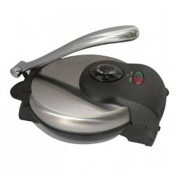 Brentwood Ts-126 Tortilla Maker With Stainless Steel Finish