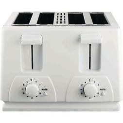 Brentwood TS-264 4 Slice Toaster, White