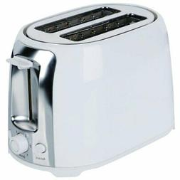 Brentwood TS-292 Cool Touch 2-Slice Bread Toaster - White