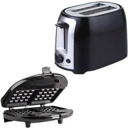 Brentwood TS-292B 2-Slice Cool Touch Toaster  and Brentwood