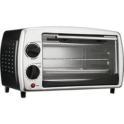 BRENTWOOD TS-345B 4-Slice Toaster Oven Broiler Home, garden
