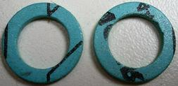 TWO WASHERS FOR COOK TOP/GAS RANGE SAFETY VALVE ASSEMBLY NEW