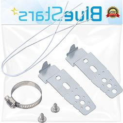 Ultra Durable 5001DD4001A Dishwasher Mounting Brackets Repla