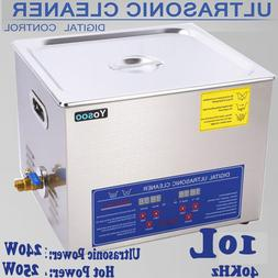 New 30L Ultrasonic Cleaner Stainless Steel Industry Heated H