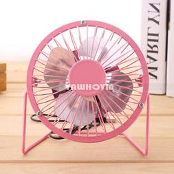 USB Mini Portable Desktop Cooling Desk Quiet Fan Computer La