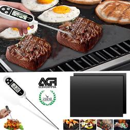 Useful Digital Instant Read Food Meat Thermometer f indoor o