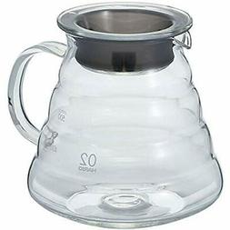V60&quotClear&quot Serveware Glass Range Coffee Server, 600m