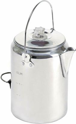 Vintage Coffee Maker Pot For Camping Trips Outdoor Campfire