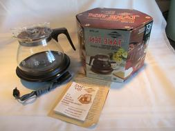 VTG NEW OLD STOCK West Bend 'TAKE TEN' 10 cup Coffee/Beverag