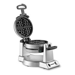 WAF-F20 Double Belgian Waffle Maker, Stainless Steel