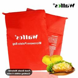 Washable Microwave  Potato Bag For Oven Quick Fast Steam Poc