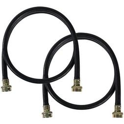 Certified Appliance Washing Machine Hoses, 2 Pack, 5 Ft. Len