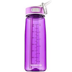 JOYSHAKER Water Bottles with Straw Sports Water Bottles BPA
