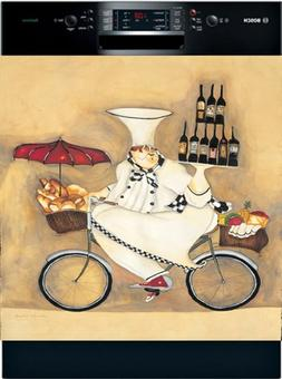 Appliance Art Wine Peddler Dishwasher Magnet Cover