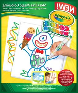 6 Pack COLOR WONDER 30PAGE REFILL PAD