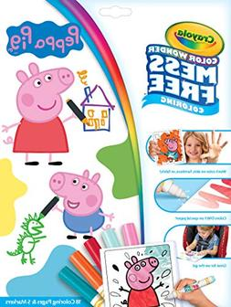 Crayola Color Wonder Peppa Pig Coloring Pages, Mess Free Col